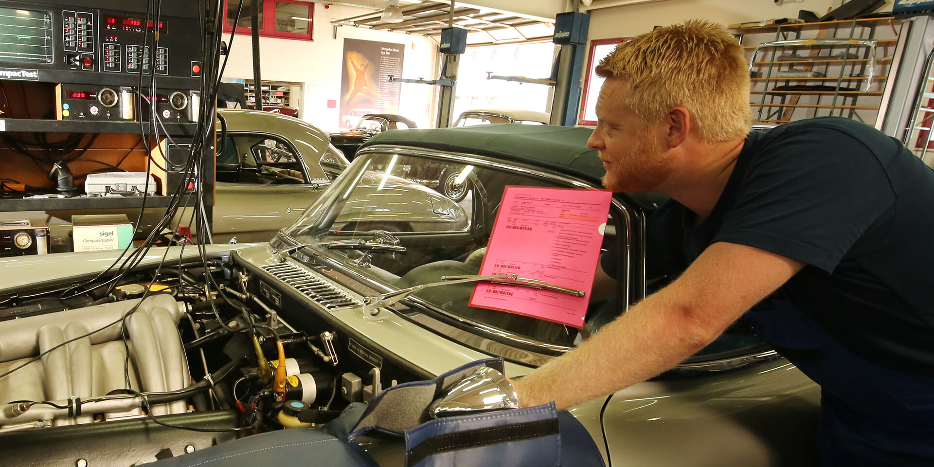 Only the best for your vintage car – Kienle customer service
