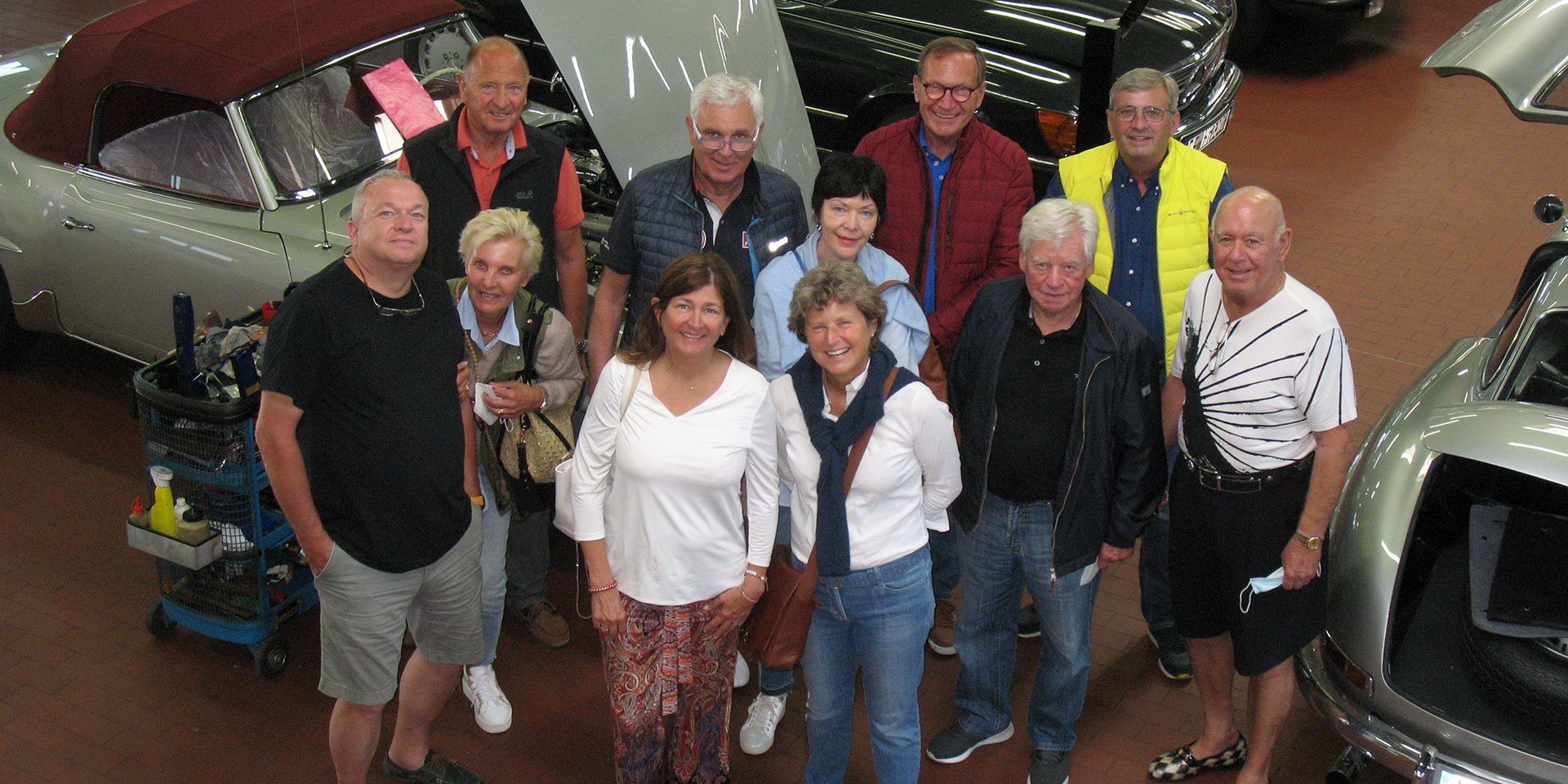Kienle factory tours – the allure of vintage cars