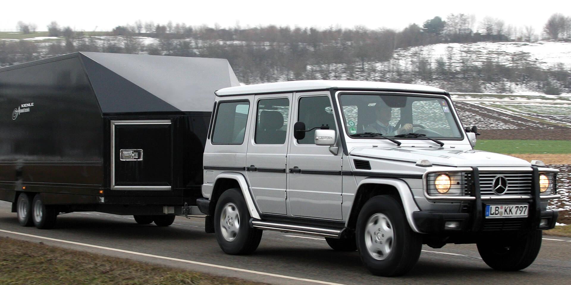 oldtimer transport zur rallye - kienle automobiltechnik